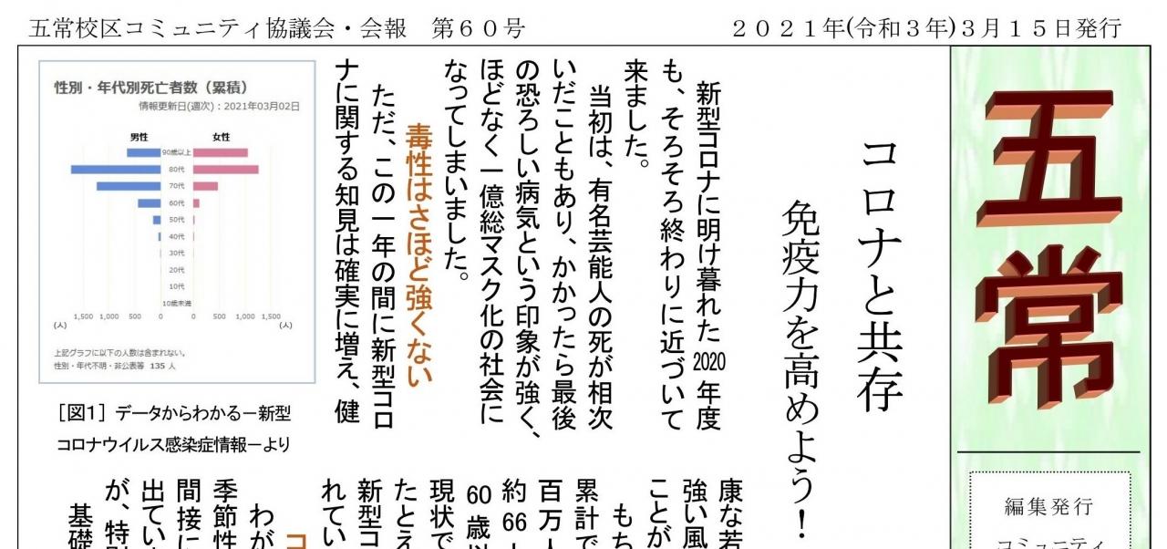 広報紙   gojyo-community
